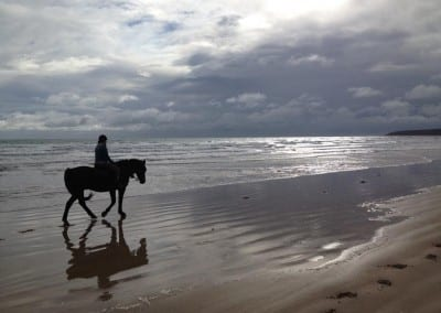 Horseriding at Bakers Beach